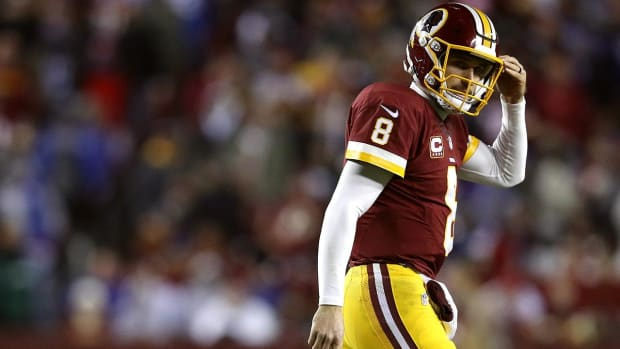 Report: Kirk Cousins asked Dan Snyder to trade him - IMAGE