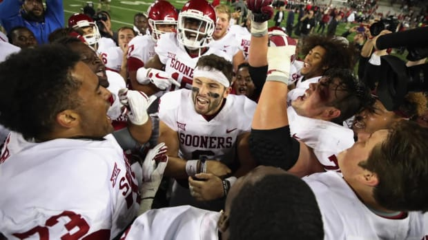 Baker Mayfield Won't Start vs. West Virginia After Kansas Antics - IMAGE