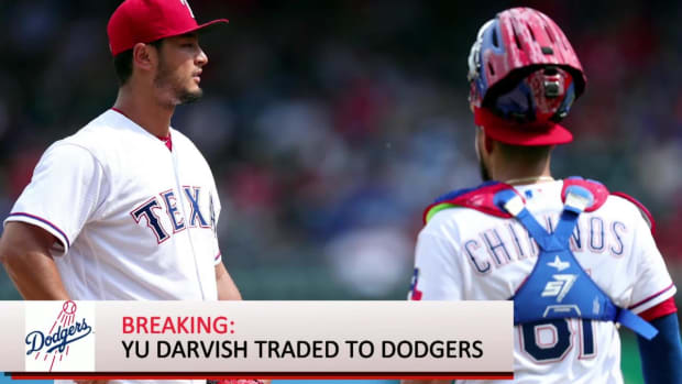 Dodgers Acquire Yu Darvish From Rangers In Late Deadline Deal--IMAGE