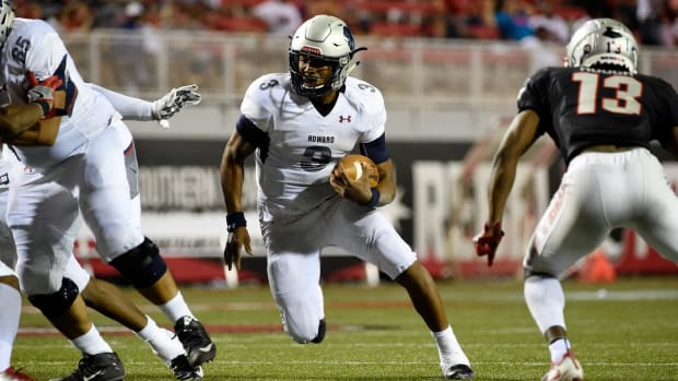 Cam Newton's Brother Leads Howard to Biggest Upset in College Football History Over UNLV - IMAGE