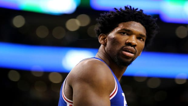 Joel Embiid out for remainder of season