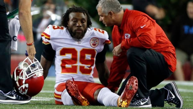 Chiefs Fear Achilles Tear for Eric Berry - IMAGE