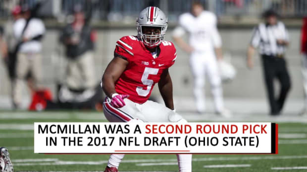 Report: Dolphins Rookie LB Raekwon McMillan Tears ACL - IMAGE
