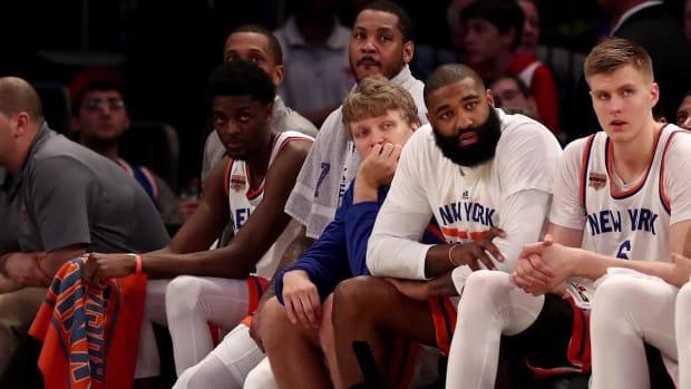 Scottie Pippen thinks the Knicks should let Phil Jackson go - IMAGE