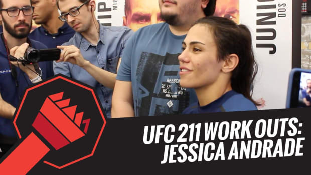 UFC 211 Open Workouts: Jessica Andrade -- IMG