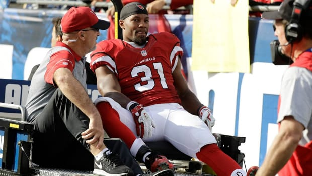 Cardinals' David Johnson suffers MCL sprain, to rehab for six to eight weeks - IMAGE