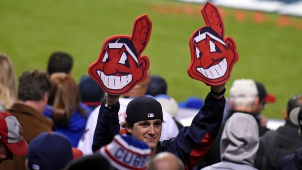 Indians, MLB Don't See Eye to Eye on Chief Wahoo--IMAGE