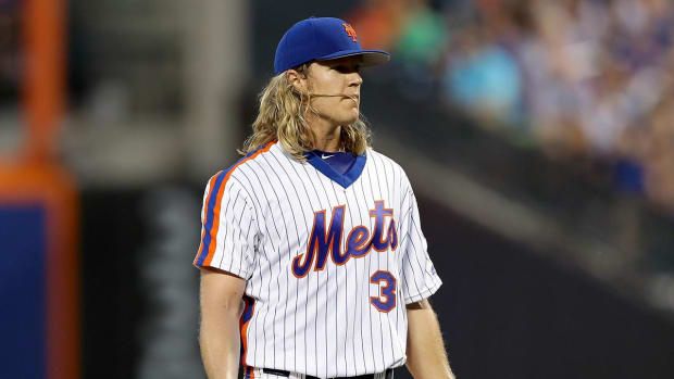 Mets place Noah Syndergaard on 10-day DL with partial lat tear - IMAGE