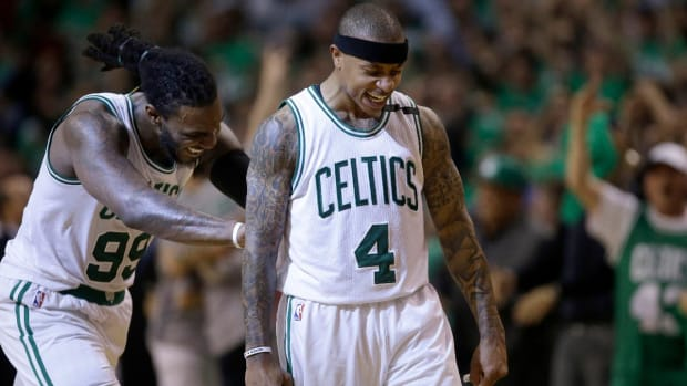 Celtics defeat Wizards in Game 7, face Cavaliers in Eastern Conference Finals--IMAGE