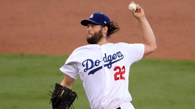 Clayton Kershaw Dazzles, Dodgers Take Game 1 of World Series--IMAGE