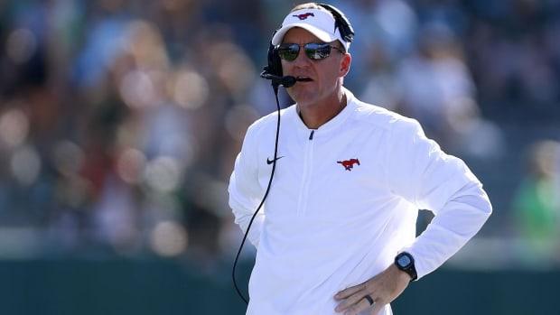 Arkansas Hiring SMU's Chad Morris as Next Head Coach - IMAGE