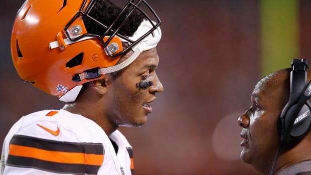 Browns to Start DeShone Kizer Over Brock Osweiler in Third Preseason Game - IMAGE