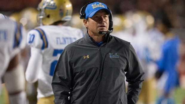 UCLA Fires Head Coach Jim Mora After Loss To USC - IMAGE