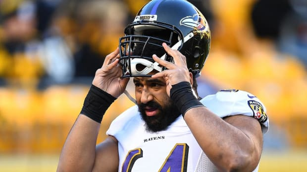 Ravens Center John Urschel Announces Retirement--IMAGE