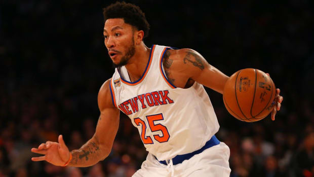 Report: Knicks don't know why Derrick Rose missed Monday's game - IMAGE