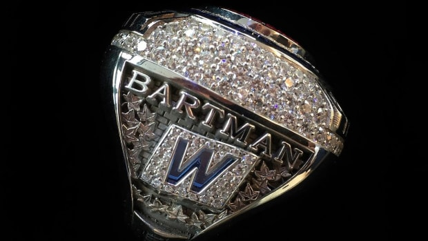 Steve Bartman Receives 2016 World Series Ring From Cubs--IMAGE