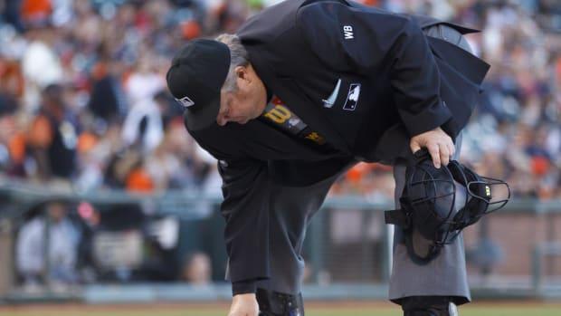 Umpire Joe West Suspended Three Games for Calling Adrian Beltre Biggest Complainer - IMAGE