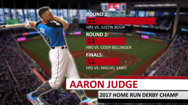 Aaron Judge wins 2017 Home Run Derby and makes it look easy - IMAGE