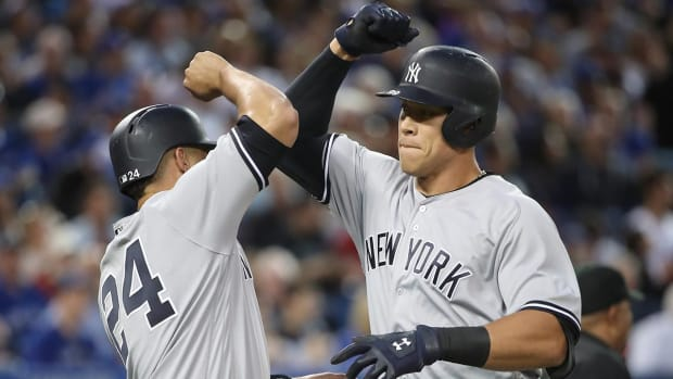 Aaron Judge, Gary Sanchez to compete in MLB Home Run Derby - IMAGE