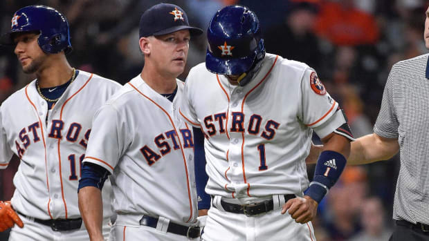 Astros lose Carlos Correa for six to eight weeks with torn thumb ligament - IMAGE