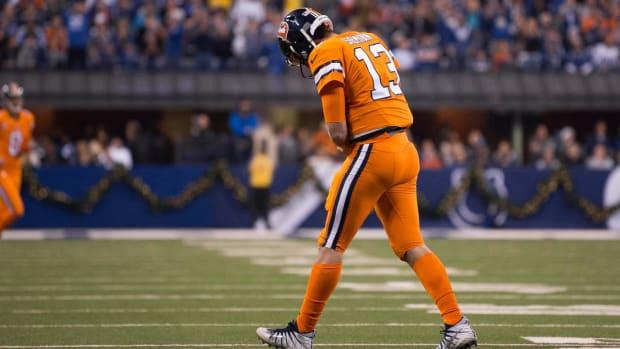Denver QB Trevor Siemian Has Left Shoulder Sprain - IMAGE