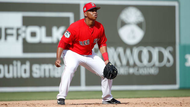 Red Sox Promote Top Prospect Rafael Devers to Majors - IMAGE