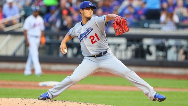 Dodgers Pitcher Yu Darvish Dominant in Debut - IMAGE