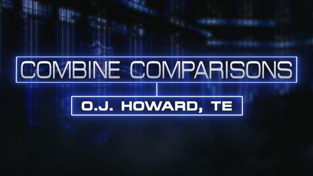 Combine Comparisons: O.J. Howard, TE IMAGE