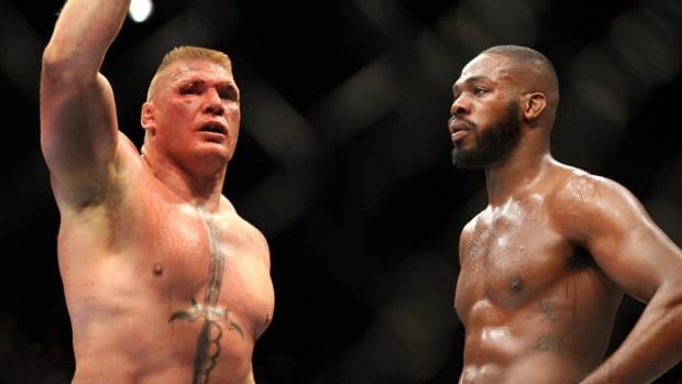 Brock Lesnar on Potential Jon Jones Superfight: 'Anytime, Anywhere' - IMAGE