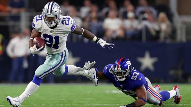 Who is More Valuable to the Cowboys: Tyron Smith or Ezekiel Elliott? - IMAGE