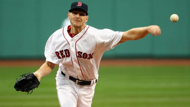 Red Sox pitcher Chris Sale will not be suspended--IMAGE