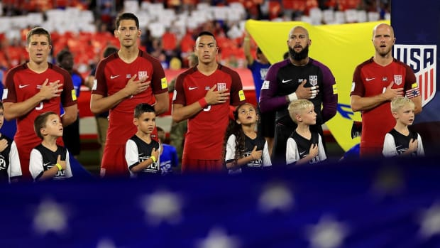 Pulisic, Altidore Put USA Back on Course for World Cup--IMAGE