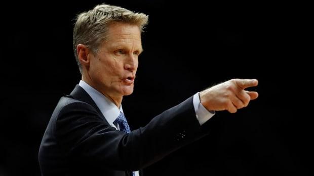 Steve Kerr health improves, will travel to San Antonio with Warriors IMAGE