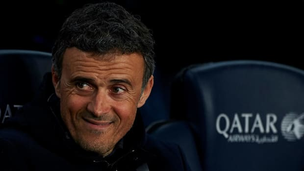 Barcelona manager Luis Enrique to step down after season--IMAGE