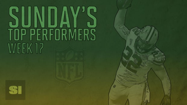 Sunday's Top Performers: Week 17 IMAGE