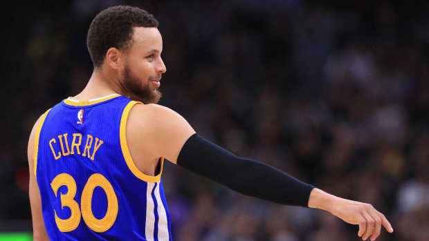 Warriors sweep their way to NBA Finals--IMAGE