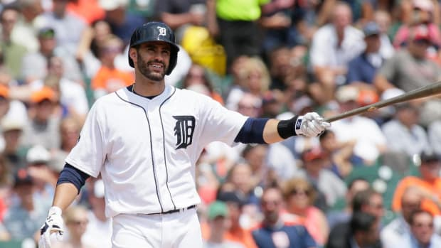 Tigers trade J.D. Martinez to Diamondbacks for three prospects - IMAGE