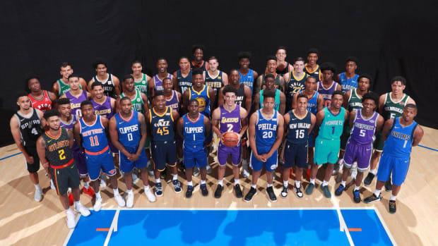 2017 NBA Rookie Class Discuss Their Earliest NBA Memories--IMAGE