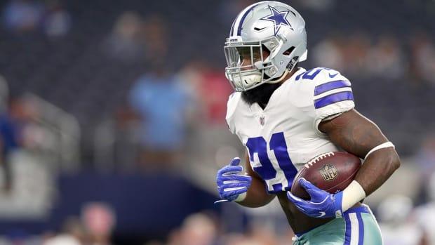 NFL Appeals Ezekiel Elliott Injunction - IMAGE
