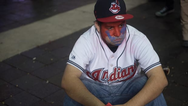 MLB wants Indians to transition away from Chief Wahoo logo - IMAGE