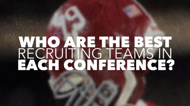 Which team in each conference has recruited the best? - IMAGE
