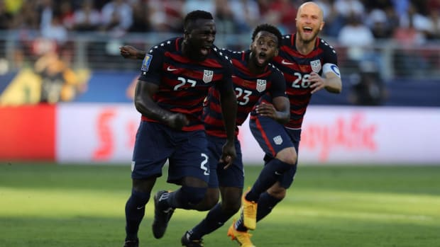 United States Men's Soccer Team Wins Gold Cup Final Over Jamaica  - IMAGE