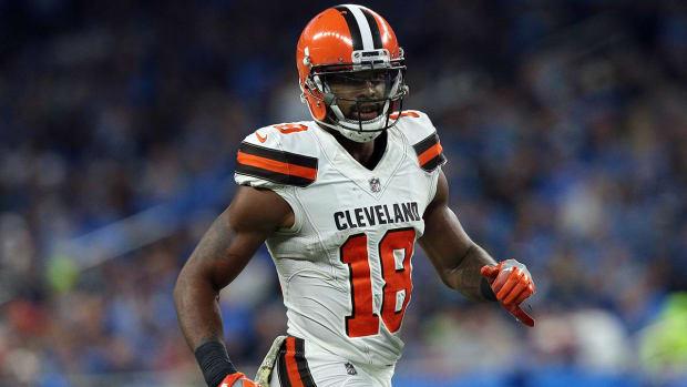 Browns Release Veteran WR Kenny Britt  - IMAGE