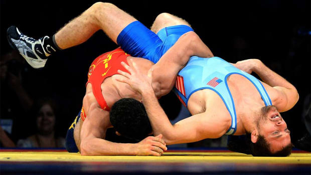 Iran bans U.S. wrestling team from World Cup after Trump's travel ban--IMAGE