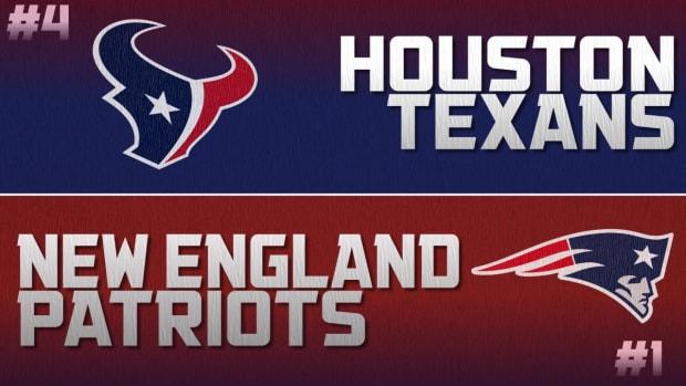 Playoff Breakdown: Texans vs. Patriots IMAGE