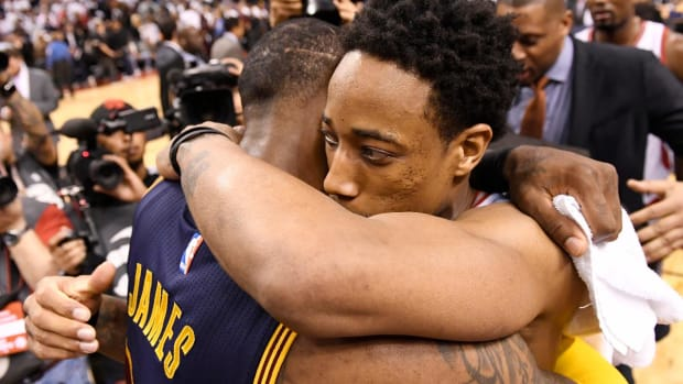 Cavaliers sweep Raptors in Eastern Conference Semifinals--IMAGE