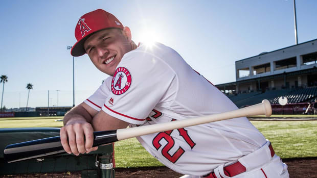 Mike Trout set to return to Angels' lineup Friday - IMAGE