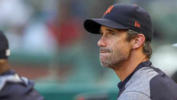 Brad Ausmus Out as Tigers Manager After Season--IMAGE