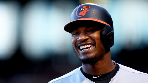 Orioles outfielder Adam Jones donates $20,000 to Negro Leagues museum--IMAGE