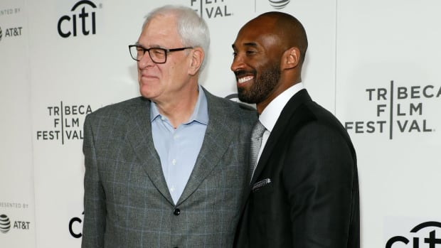 Phil Jackson Unable to Attend Kobe Bryant's Jersey Retirement - IMAGE